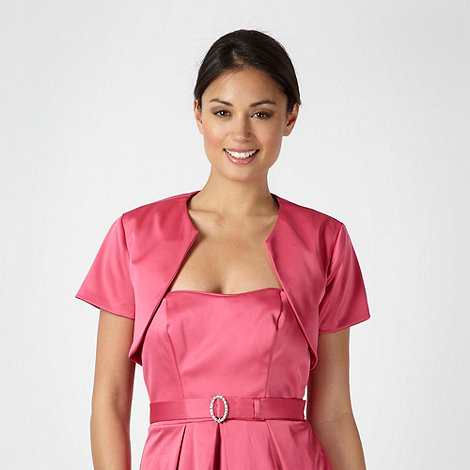 Debut - Bright pink satin cover up