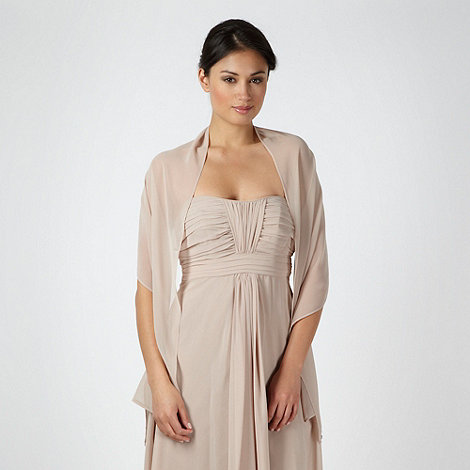 Debut - Online exclusive light brown chiffon stole