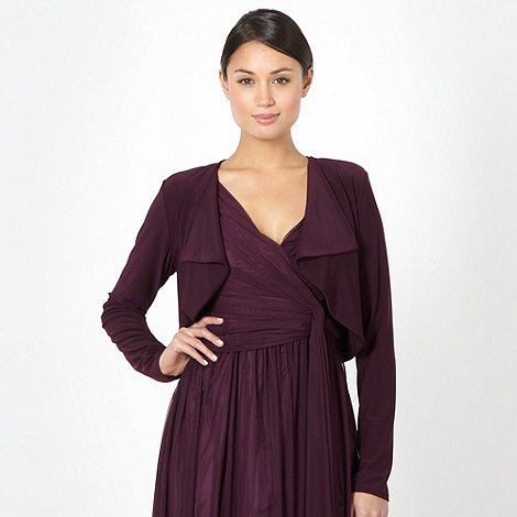 Debut - Plum jersey cover up