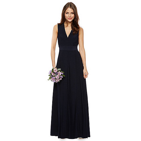 Debut - Dahlia Pleated Jersey Maxi Dress