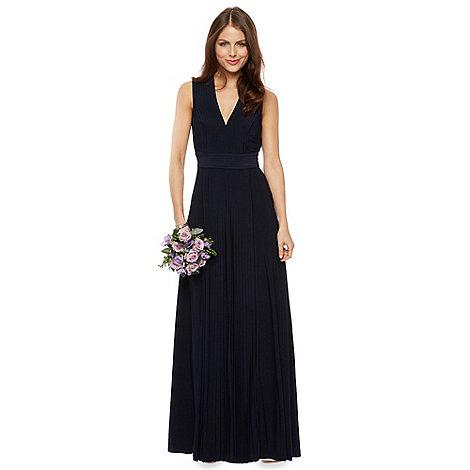 Debut - Dahlia Pleated Jersey Maxi Dress