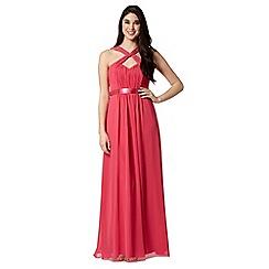 Debut - Bright pink maxi dress