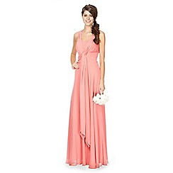 Debut - Salma Knot Chiffon Maxi Dress