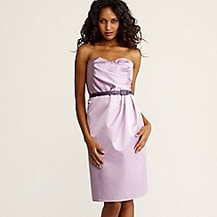 Debut - Lilac bandeau prom dress