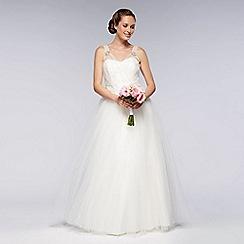Debut - Ivory vintage tulle wedding dress