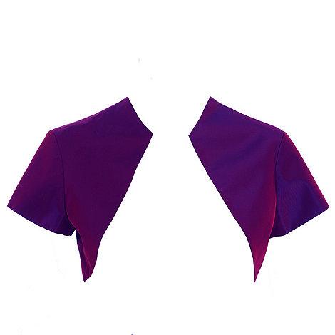 Debut - Purple taffeta bolero