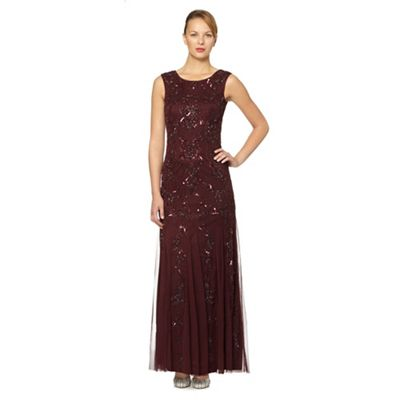 Dark Red Or Maroon Mother Of The Bride Outfits And Dresses