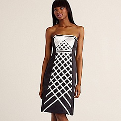 Debut - Black ribbon detail occasional dress