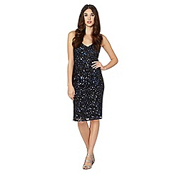 Debut - Black sequin cami occasion dress