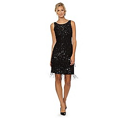 No. 1 Jenny Packham - Designer black embellished flapper occasion dress