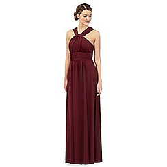 Debut - Dark red multiway evening dress