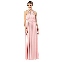 Debut - Pale pink multiway evening dress