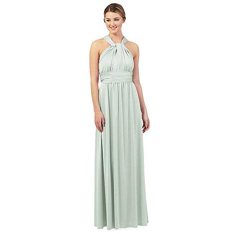 Debut - Light green multiway evening dress