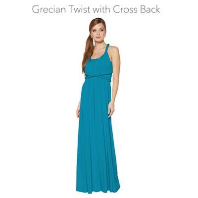 Teal maxi dresses uk