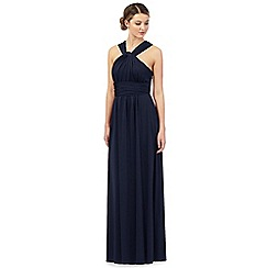 Debut - Navy multiway jersey maxi evening dress