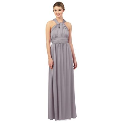 Debut Light grey multiway evening dress | Debenhams