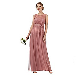 Debut - Pale pink chiffon dress
