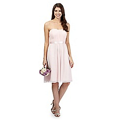 Debut - Pale pink ruched dress
