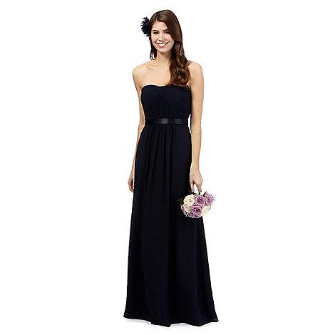Debut - Dark blue +Sophia+ evening dress