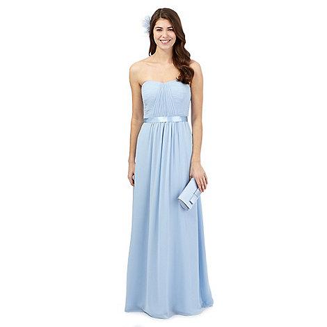Debut Pale blue 'Sophia' evening dress | Debenhams