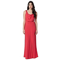 Debut - Bright pink embellished maxi dress