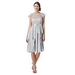 Debut - Silver cord lace dress