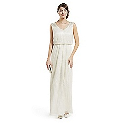 No. 1 Jenny Packham - Designer silver beaded dress