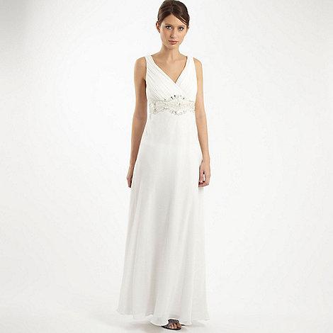 Debut - Ivory embellished wedding dress