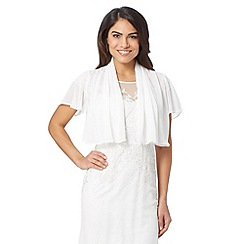 Debut - White chiffon cover up