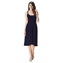 Debut - Navy multiway jersey midi dress