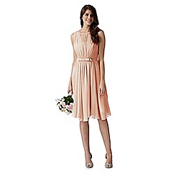 Debut - Debut rose vintage bow midi dress