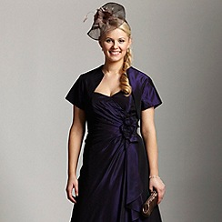 Debut - Purple taffeta bolero
