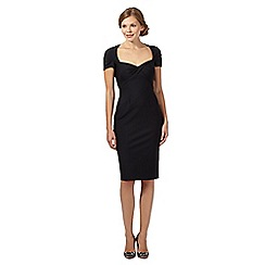 Debut - Nigella black sweetheart bodycon dress
