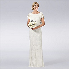 Debut - Ivory bead embellished bridal gown
