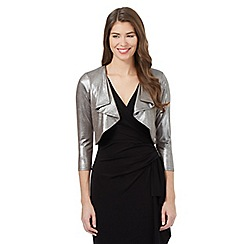 Debut - Silver foil cover up top