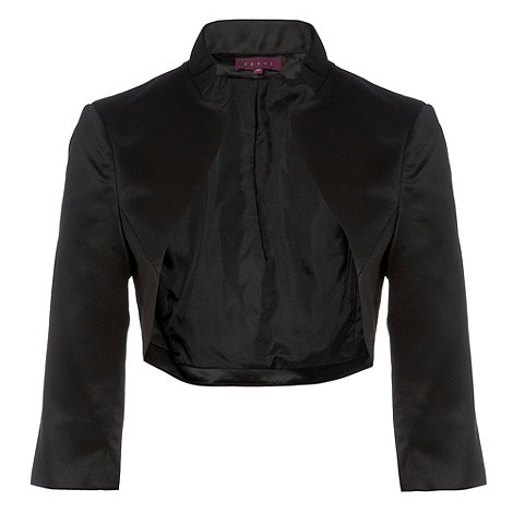Debut - Black stand up collar bolero