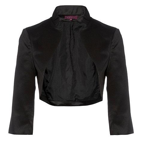 Debut - Black stand up collar bolero