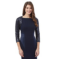 Debut - Navy sequin cover up