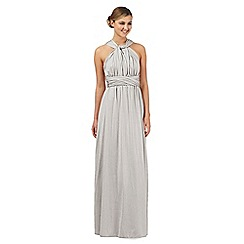 Debut - Silver shimmer multiway evening dress