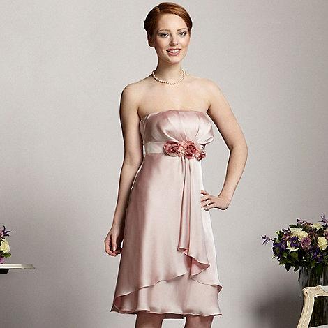Debut - Light pink rose front dress