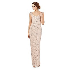 Debut - Rose sequin embellished maxi dress