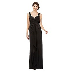 Debut - Black twist knot maxi dress