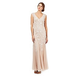 Debut - Light pink embellished maxi dress