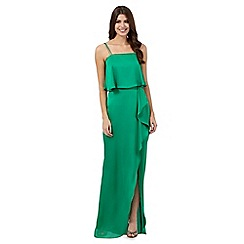 Debut - Bright green maxi dress