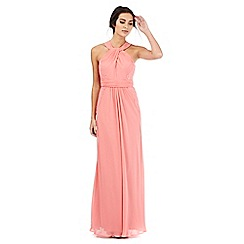 Debut - Dark peach maxi dress
