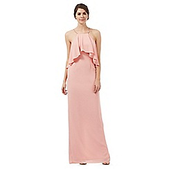 Debut - Rose ruffled layered maxi dress