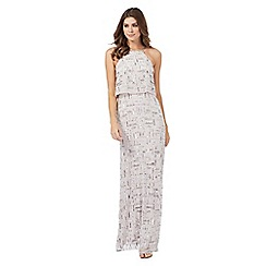 Debut - Silver embellished maxi dress