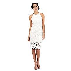 Debut - Ivory lace midi dress