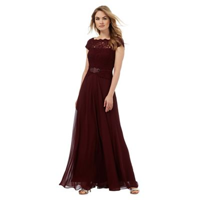 maxi dress 6ft red