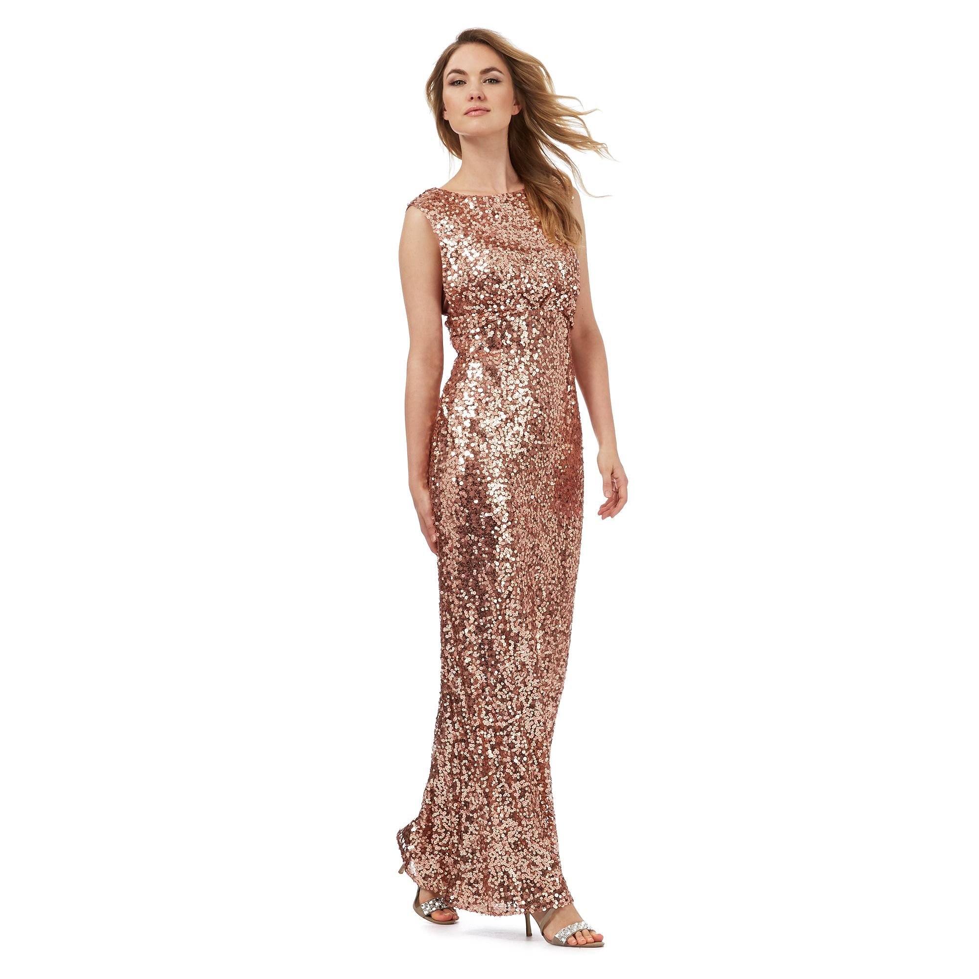 Lastest 193 Red Prom Dresses  Long VNeck Sequin Dress With Open Back By